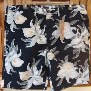 Levi's chino straight shorts Hawaiian NWT 44